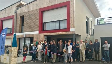 Inauguration 6 logements locatifs à Trémuson